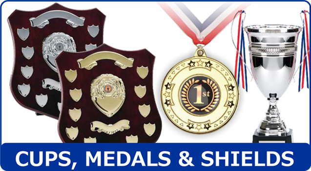 Trophy awards - Coventry, West Midlands - Coventry Trophy Centre - Cups, Medals & Shields