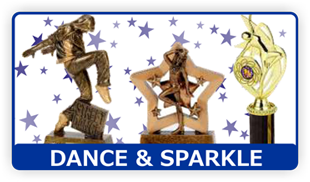 Trophy awards - Coventry, West Midlands - Coventry Trophy Centre - Dance & Sparkle