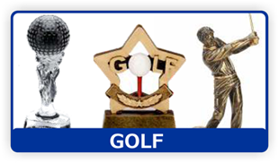 Trophy awards - Coventry, West Midlands - Coventry Trophy Centre - Golf