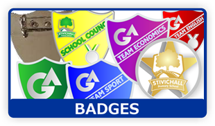 Trophy awards - Coventry, West Midlands - Coventry Trophy Centre - Badges